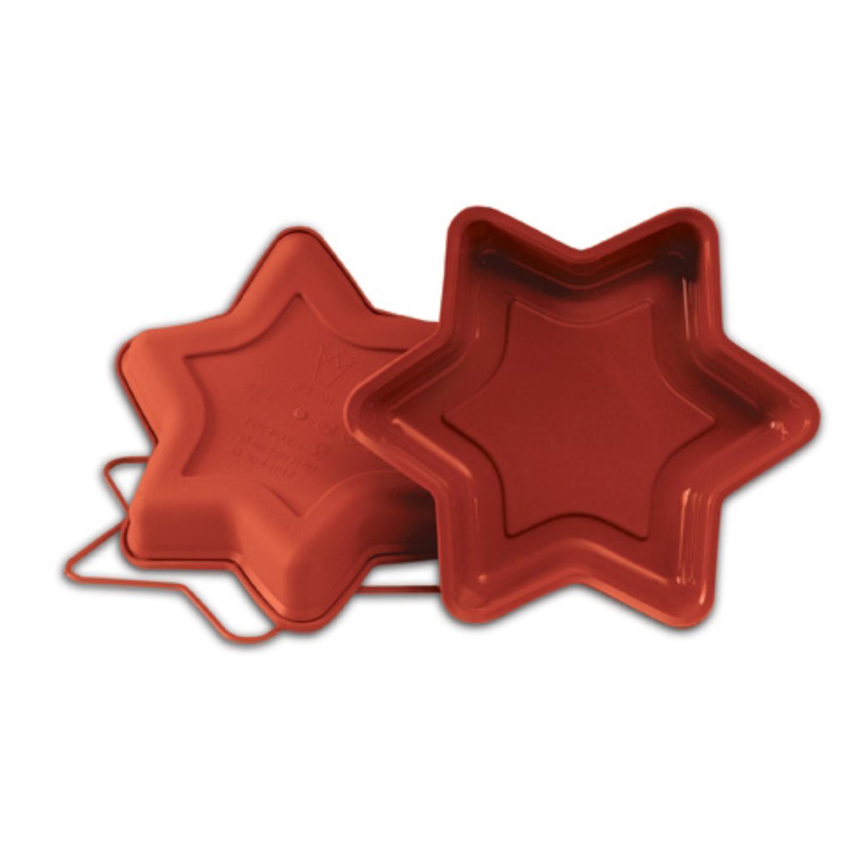 Moule étoile 6 Branches Uniflex Uniflex Moulds Le Comptoir De La